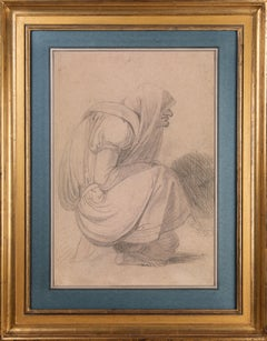 Drawing of a captive woman