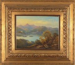 19th C,  Between Neo-Classicism and Romanticism, Montanious Landscape