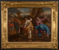 17th C, Baroque, Biblical, Jesus and the Samaritan Woman by the Well