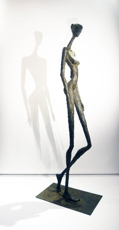 Grande Charme, Life-size Nude bronze