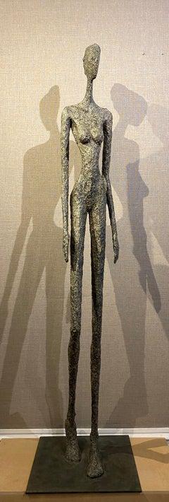 Idéale, Life-size Nude bronze