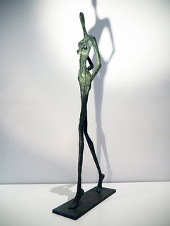 Podium,  Nude bronze