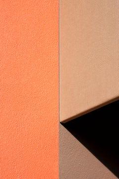 Orange Brown and Black - focuses on mundane urban landscape, Photographic