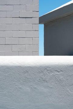 Three Kinds of Grey - focuses on mundane urban landscape, photographic print