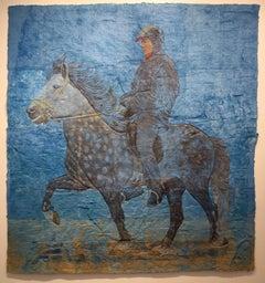The Rueful Countenance (Knight Errant), Pony's Head Petroglyph, Horse, Jockey