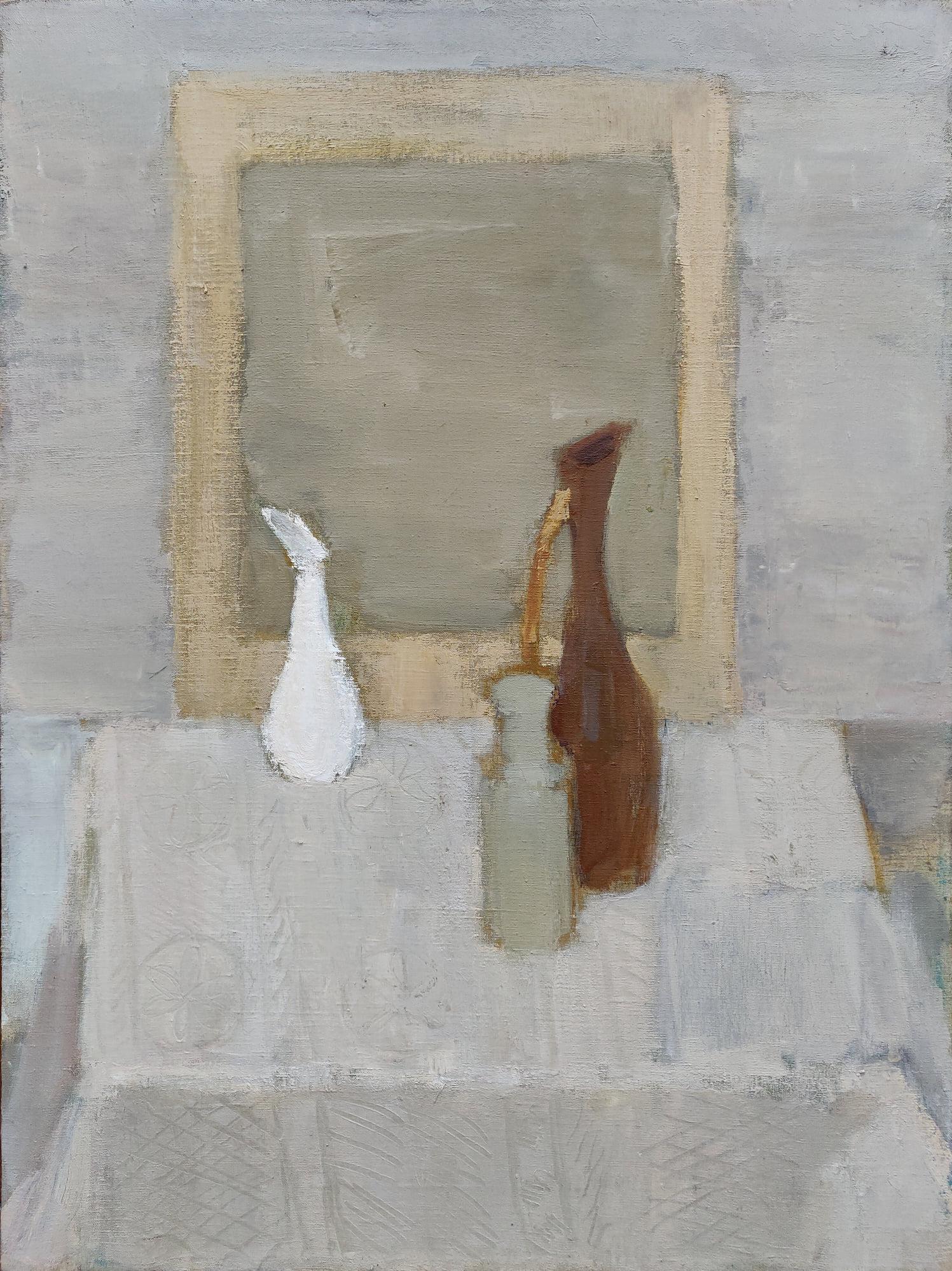 Still Life №6 - 21st Century Contemporary Minimalist Oil Painting