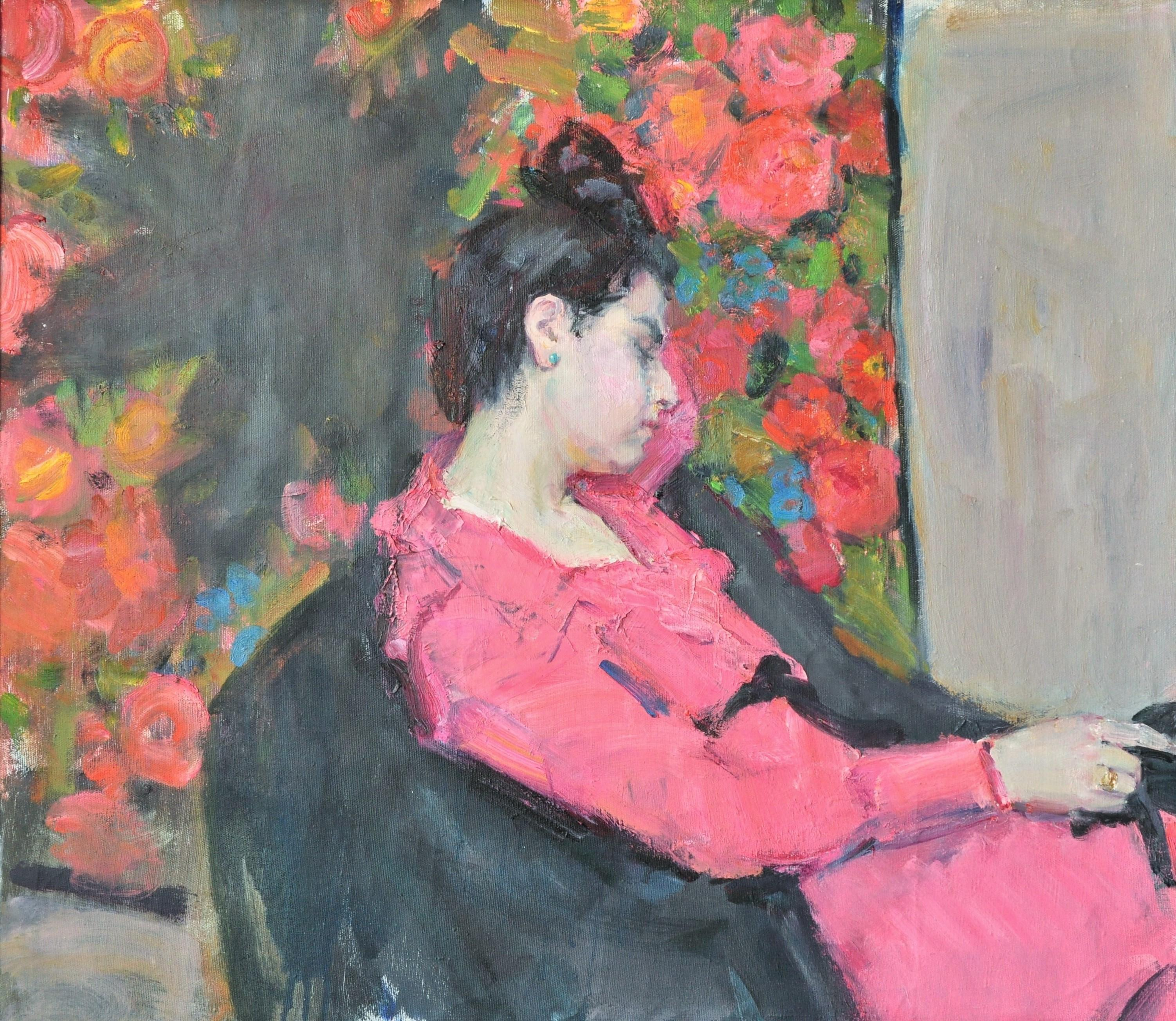 Suzanne - Yaroslava Tichshenko 21st Century Contemporary Oil Painting Female