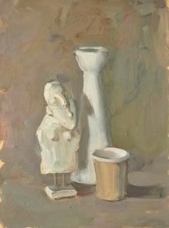 Still Life With a Statuette - Yaroslava Tichshenko 21st Century Contemporary Art