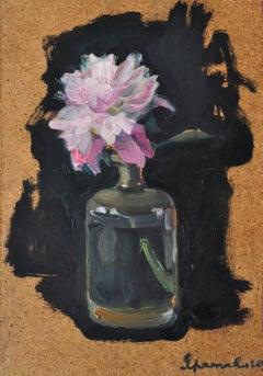 Peony - Yaroslava Tichshenko 21st Century Contemporary Oil Painting - Floral