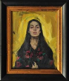 Self-Portrait. Soul Movement - 21st Century Contemporary Realism Oil Painting