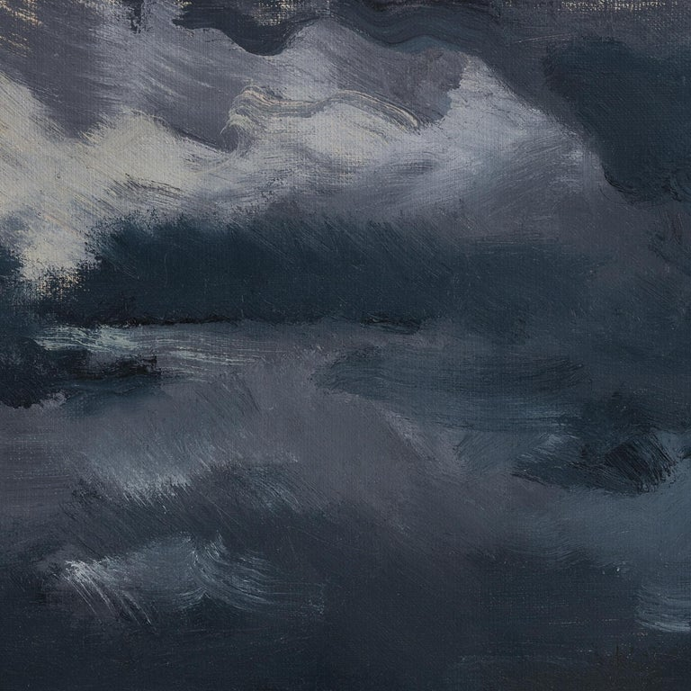 Before the Thunderstorm - 21st Century Contemporary Oil Lanscape Painting For Sale 1