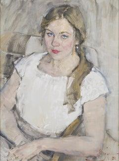 Sofia - 21st Century Contemporary Oil Portrait Painting