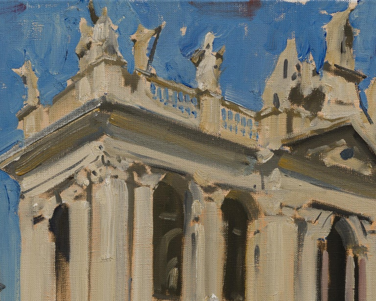 Basilica di San Giovanni in Laterano designed by Francesco Borromini is the oldest public church in the city of Rome, and the oldest basilica of the Western world. However, in the present brilliant study by Ilya Zorkin it is captured without