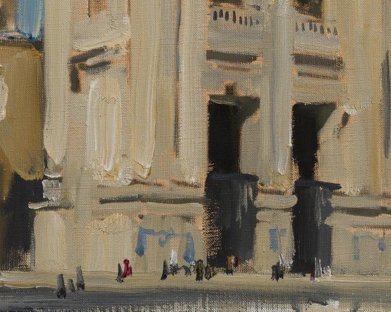 Basilica di San Giovanni in Laterano - 21st Century Contemporary Rome Painting For Sale 1