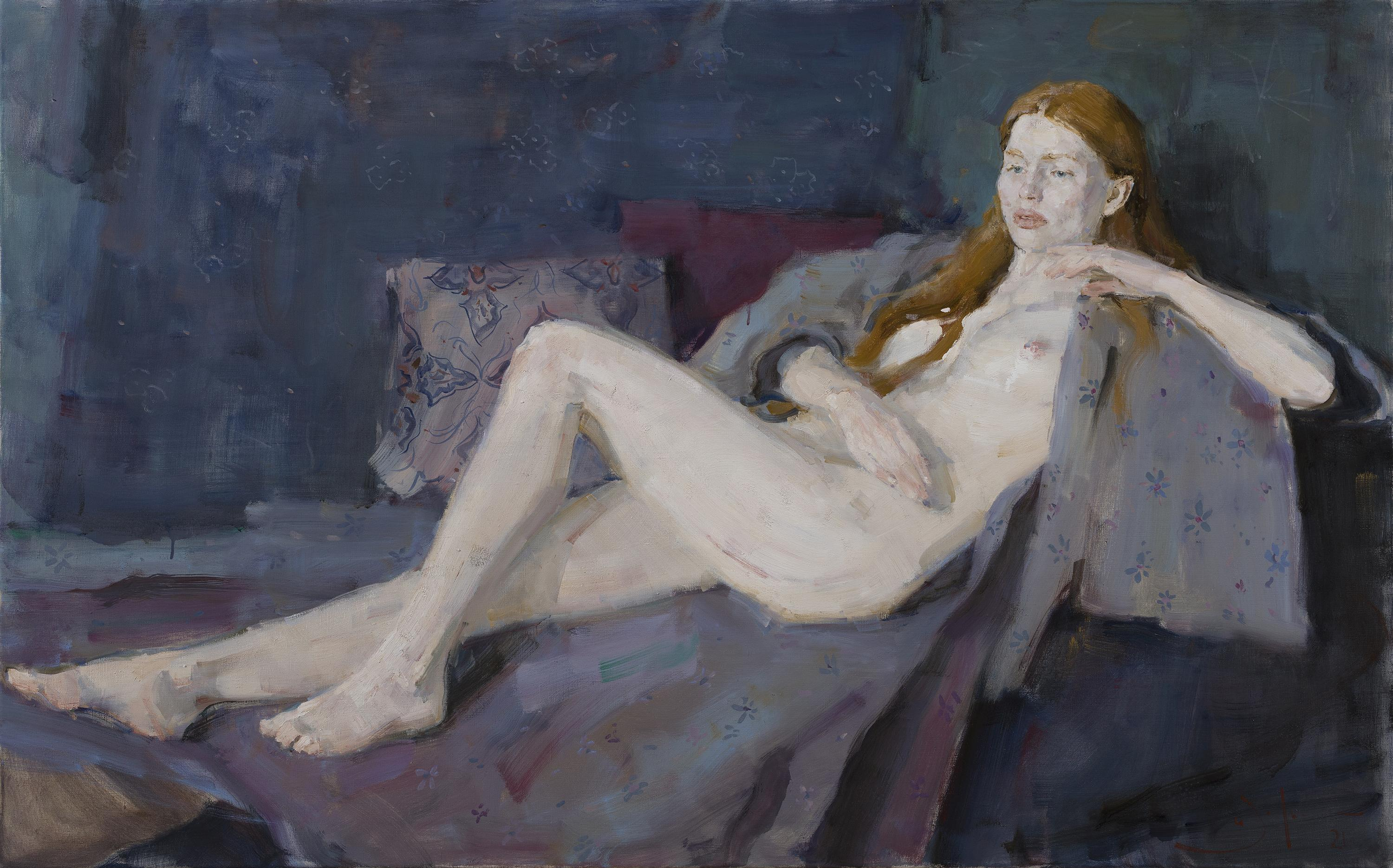 Nude - 21st Century Contemporary Large Figure Oil Painting