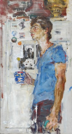 Portrait of Ivan - 21st Century Contemporary Oil Painting