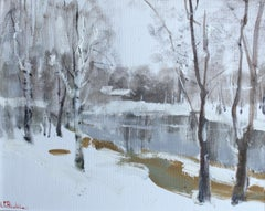 Lapua. Finland - 21st Century Contemporary Impressionist Nature Oil Painting