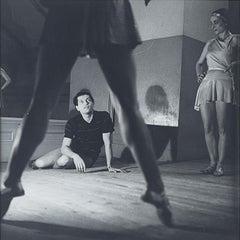""""""" Serge LIFAR en répétition """" photography. """" Serge LIFAR in REPETITION """" ."""