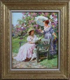 Elegant Ladies in the Park