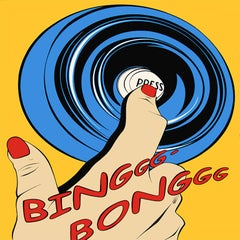 Deborah Azzopardi, Bing Bong, Limited Edition Screen Print