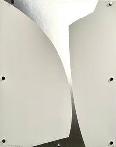 """SSI"" 1970s Abstract Silkscreen Artist Proof MOMA Whitney Artist"