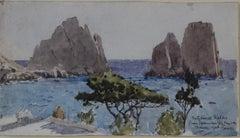 """Capri from Gracie Fields Villa"""
