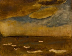 Marine, Constant Permeke (Expressionist Seascape Painting)