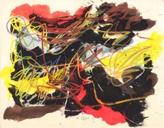 Untitled, Karel Appel, 1959 (Dutch Abstract Expressionist Drawing)