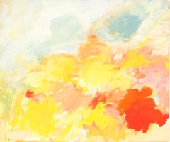 7030 Summer Time, Eugene Brands, 1983 (Colourful Abstract Gouache )