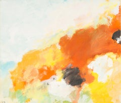 708 / 2 landscape, Eugene Brands, 1983 (colorful abstract watercolor)
