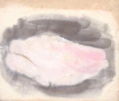 Nu Informel, Informal Nude, Jean Fautrier, c 1944 (Modernist abstract nude)