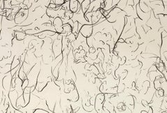 Untitled, Johan Lennarts (abstract expressionist ink drawing)