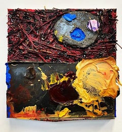 Jeanne Gentry Keck, Accidental Freedom IV, Mixed Media on Canvas, 2020