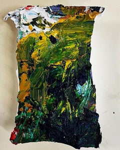 Jeanne Gentry Keck, Accidental Freedom XII, Mixed Media on Canvas, 2021