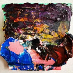 Jeanne Gentry Keck, Accidental Freedom VI, Mixed Media on Canvas, 2020