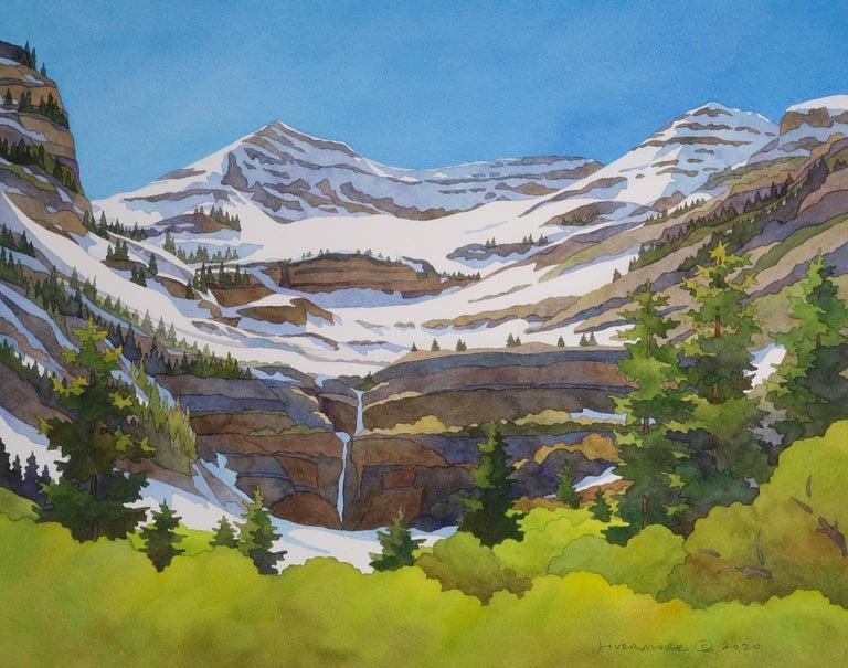 Rebecca Livermore Landscape Painting - Timpanogos Transitions