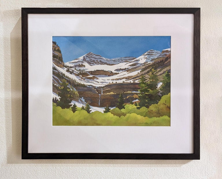 Timpanogos Transitions - Painting by Rebecca Livermore