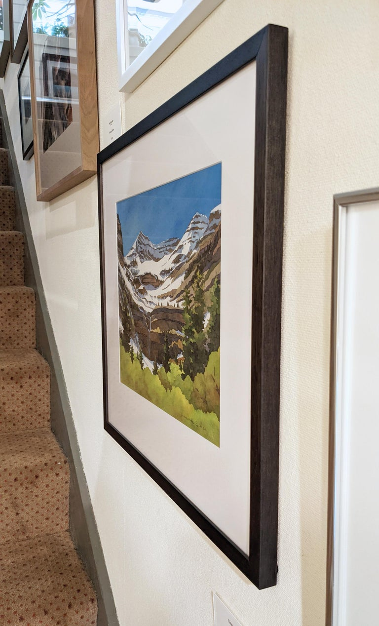 Timpanogos Transitions - Other Art Style Painting by Rebecca Livermore