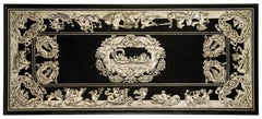 Italian scagliola Tabletop decorated with mythological scenes 19th Century
