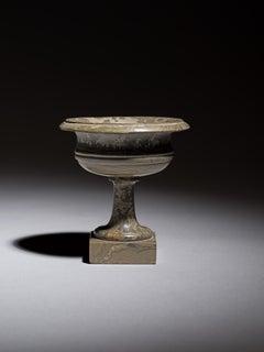 Pietra dura marble cup Italy 19th Century