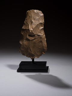 Knapped Flint Axe, Late Neolithic to Pre-Dynastic Period 6000 - 3500 BC