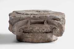A late Hellenistic Ionic Marble Capital Greek Empire 2nd Century AD