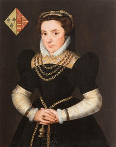 Portrait of a Lady, Bruges Painter Claeissens, Portrait Painting, Old Master
