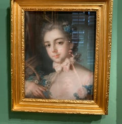 18th Century Portrait Drawings and Watercolors