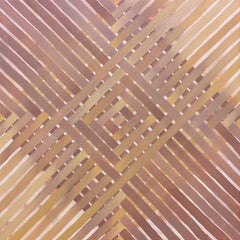 'Covering' - Geometric Abstract Painting - Anni Albers - Agnes Martin