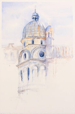 """Duomo"" - Venice - Architectural Watercolor Painting - Turner"