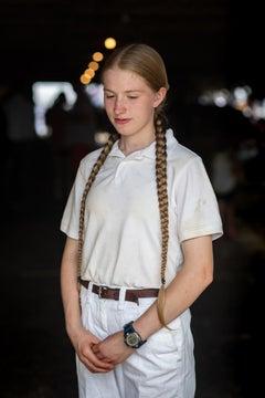 """""""Girl with Braided Hair, Cummington Fair"""" - Southern Portrait Photography"""