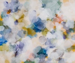 """""""Windshadow"""" - Nature-based Color Field Abstract Painting - Joan Mitchell"""