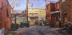 """Kentucky Nocturne"" - Impressionist Plein Air Landscape Painting - Wyeth"