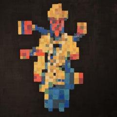 'Kali Ma' - Contemporary Geometric Abstraction - Pixelation - Bosch